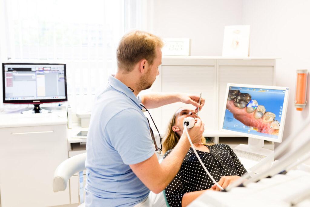 Scan für Digitale Zahnmedizin Rostock Warnemünde