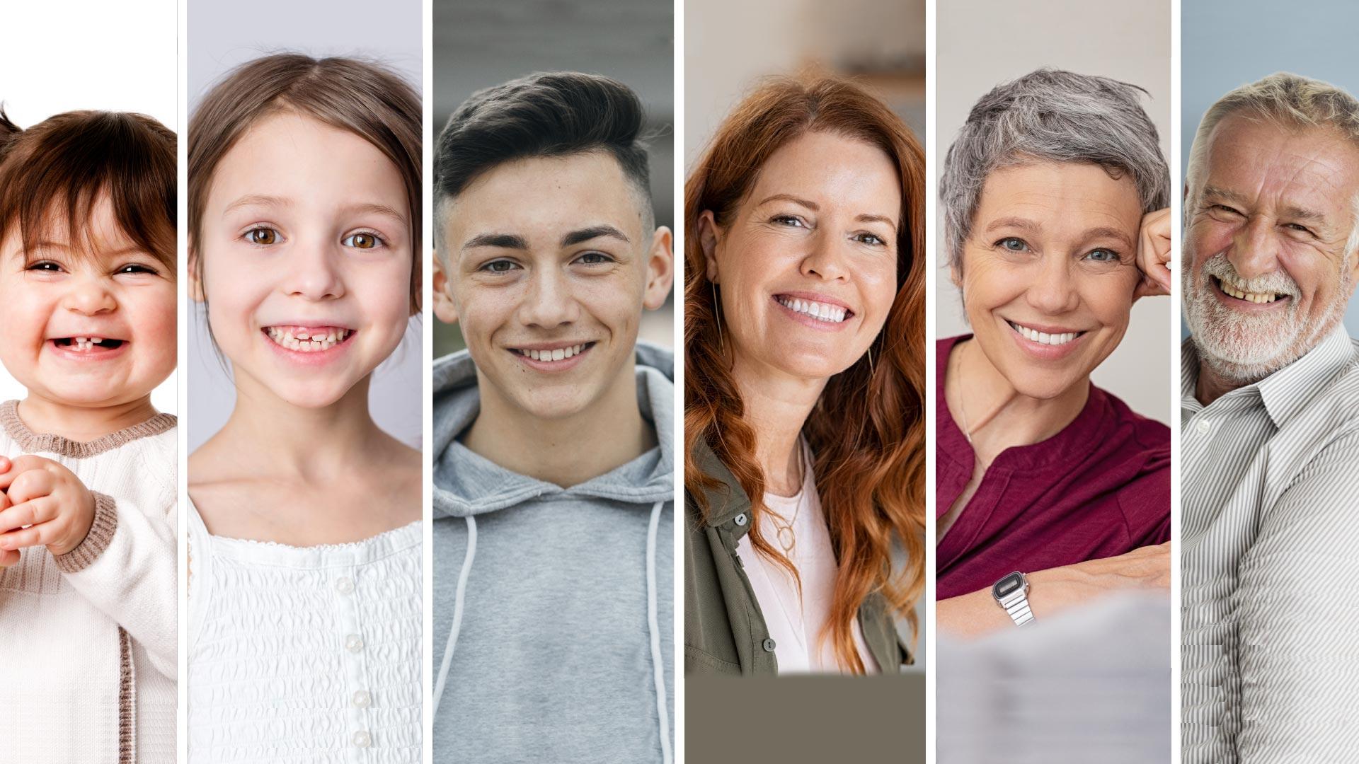 lachende Patienten der Zahnärzte Warnemünde